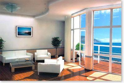 1 комнатная квартира в Алуште